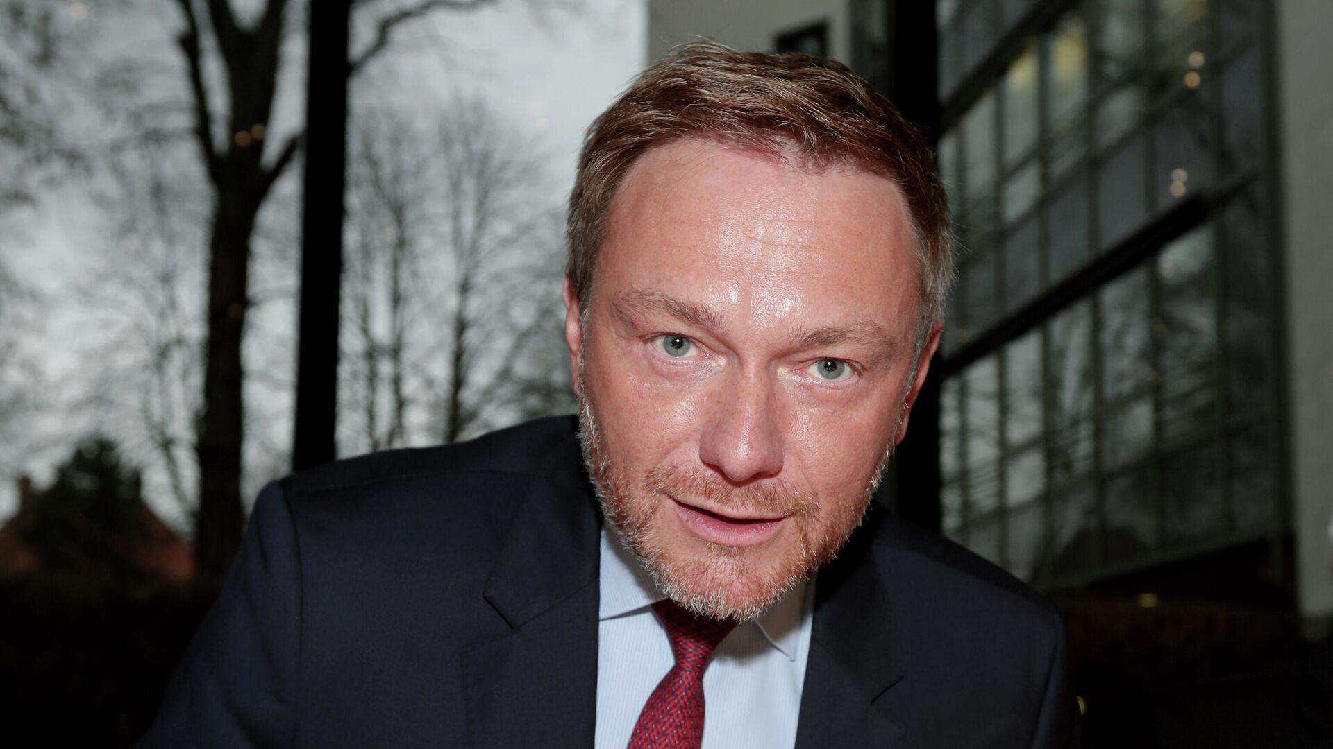 FDP-Chef Christian Lindner  - SNA, 1920, 25.07.2021