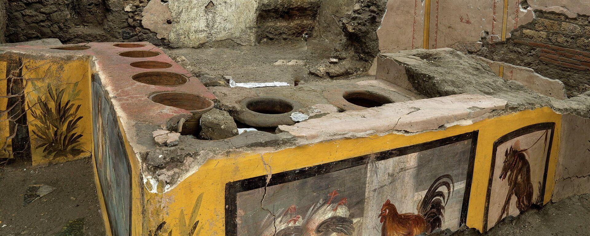 """Antike """"Snackbar"""" von Pompeji ausgegraben - SNA, 1920, 27.12.2020"""