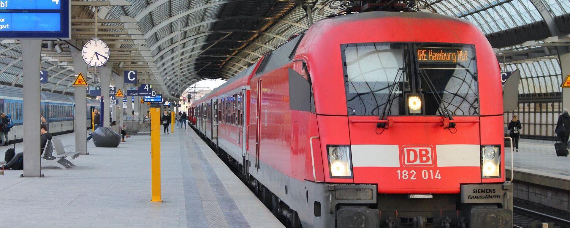 Ein Zug der Deutschen Bahn - SNA, 1920, 02.09.2021