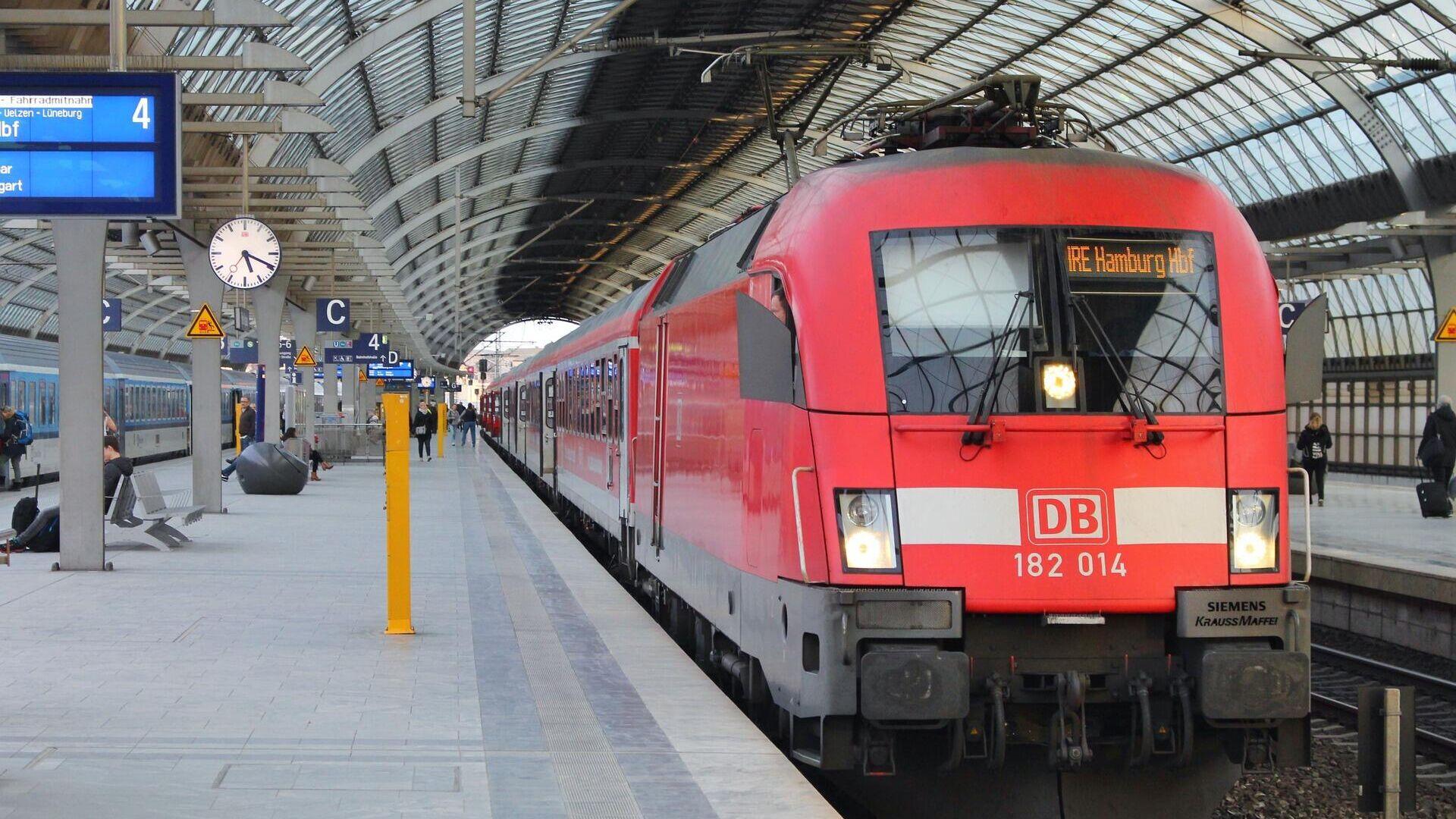 Ein Zug der Deutschen Bahn - SNA, 1920, 11.10.2021