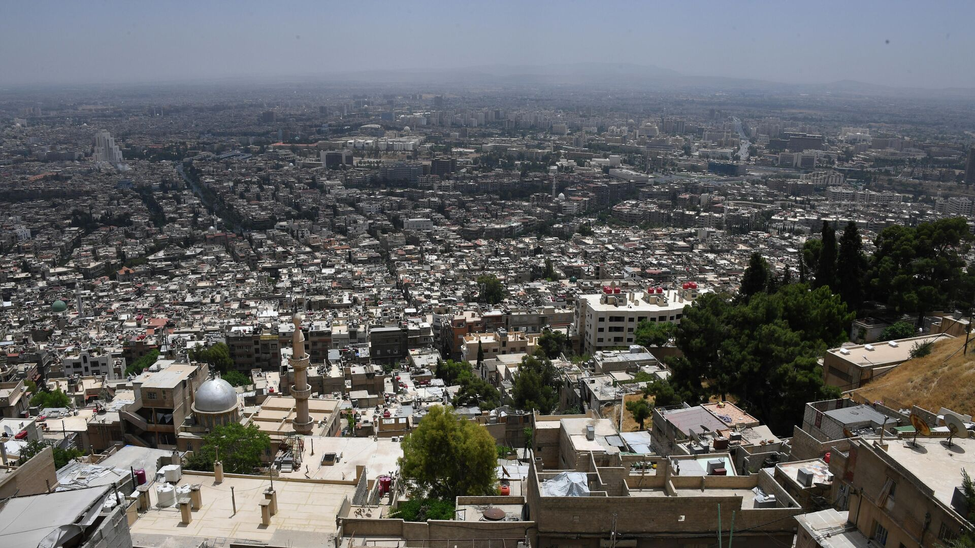 Vororte von Damaskus (Archivbild) - SNA, 1920, 28.02.2021