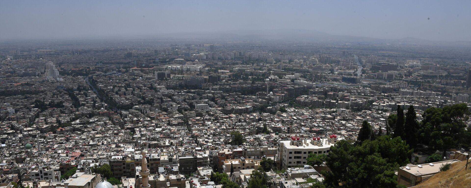 Vororte von Damaskus (Archivbild) - SNA, 1920, 20.08.2021