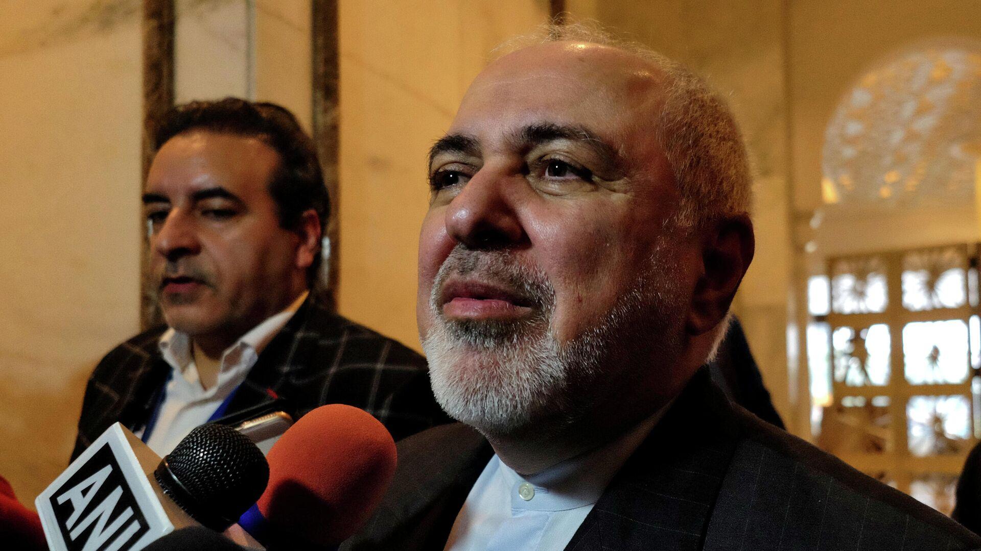 Der iranische Außenminister Mohammed Dschawad Sarif (Archivfoto) - SNA, 1920, 02.01.2021