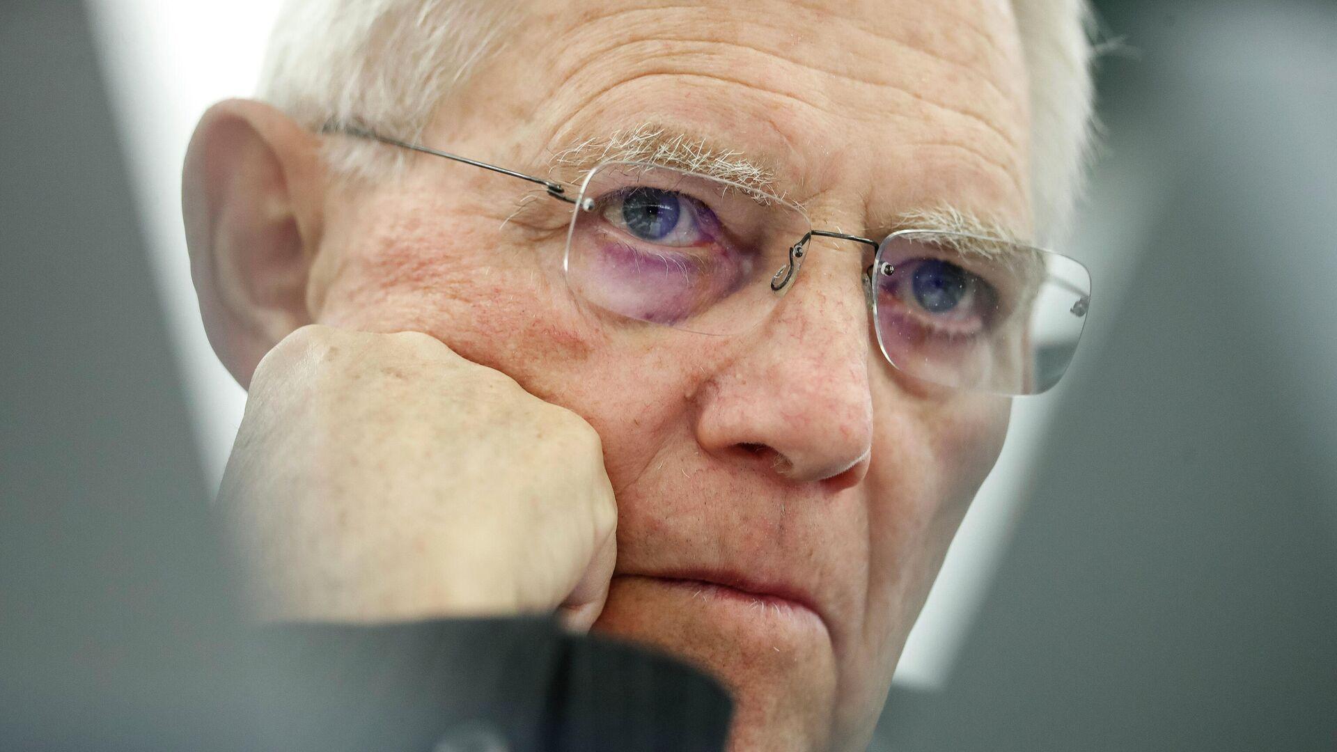 Bundestagspräsident Wolfgang Schäuble (Archiv) - SNA, 1920, 02.05.2021