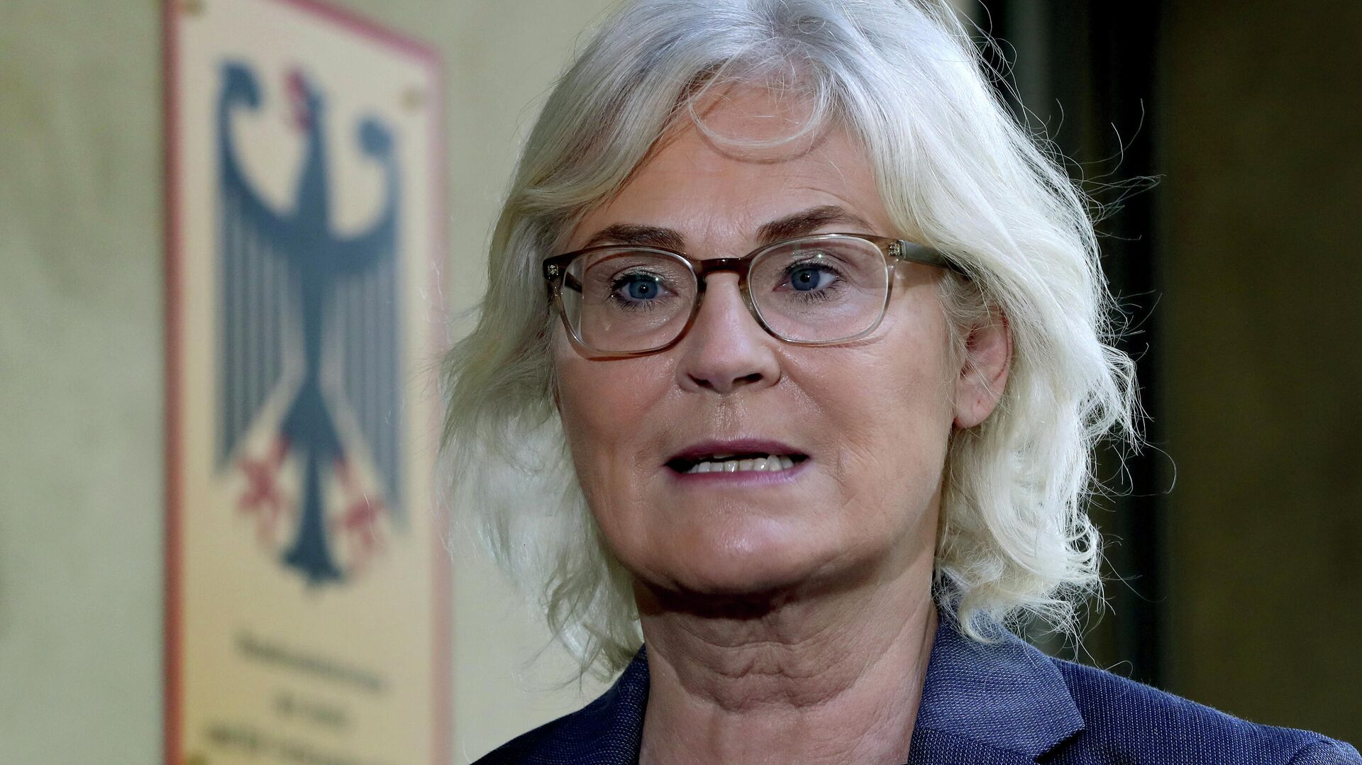 Bundesjustizministerin Christine Lambrecht (Archivfoto) - SNA, 1920, 08.10.2021