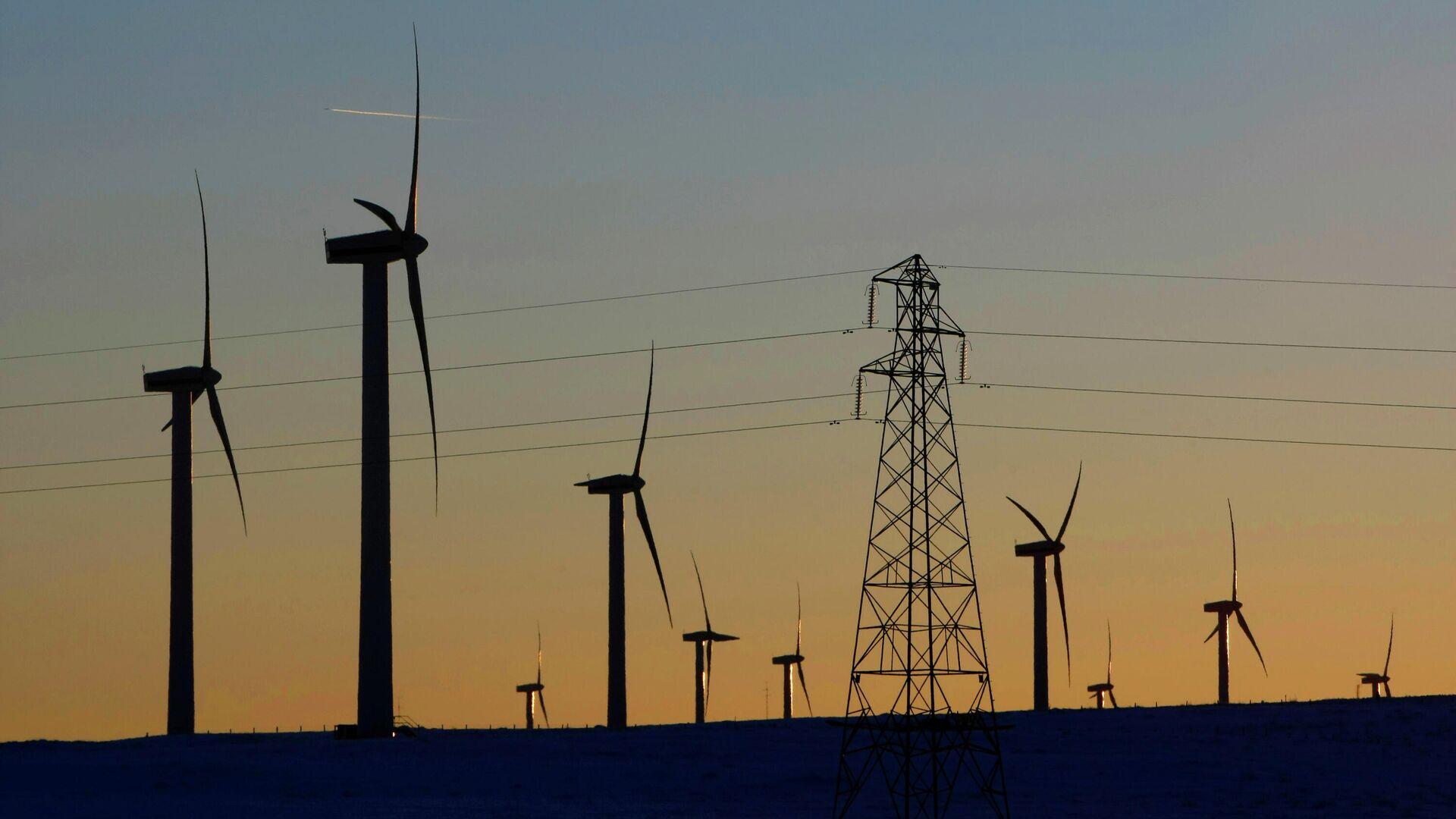 Windkraftanlagen - SNA, 1920, 02.01.2021