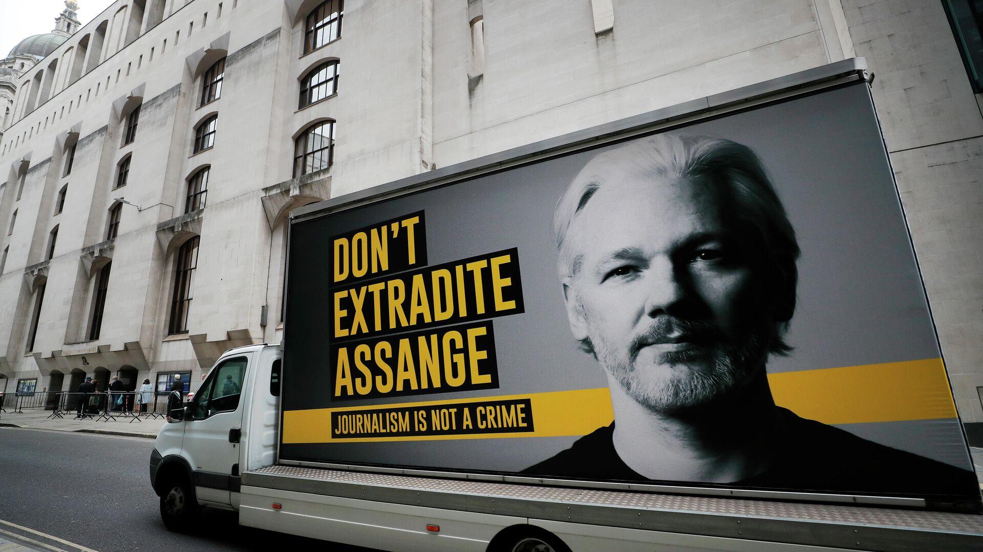 Julian Assange Poster  - SNA, 1920, 03.07.2021