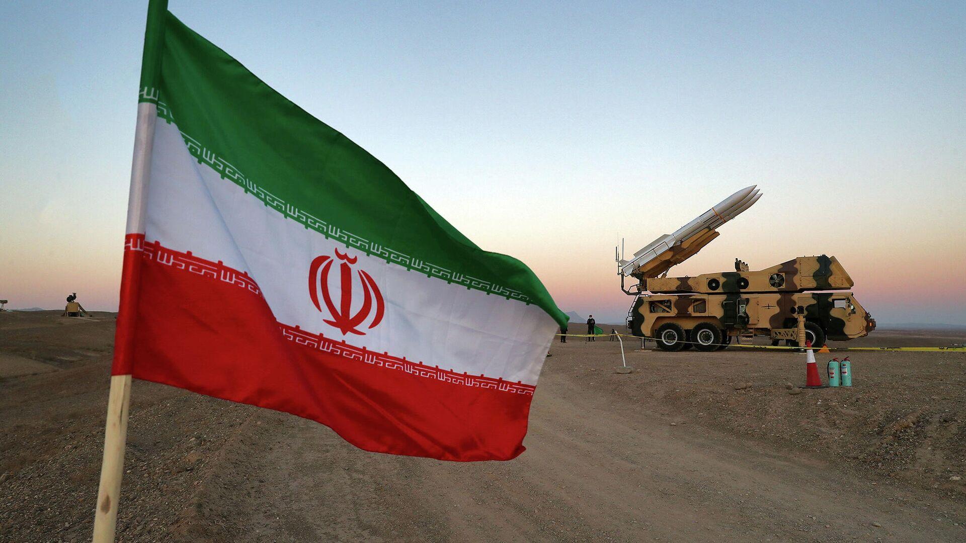 Iranische Flagge (Archivfoto) - SNA, 1920, 16.01.2021