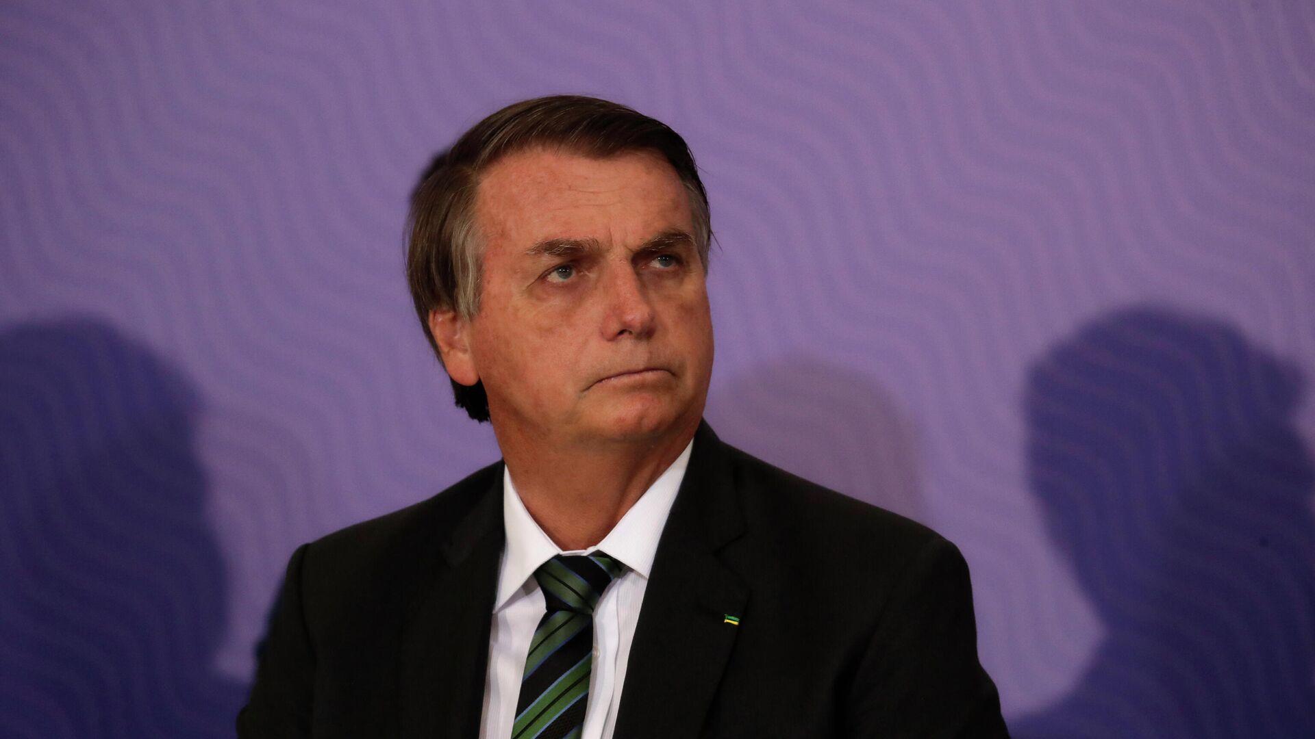 Brasiliens Präsident Jair Bolsonaro - SNA, 1920, 07.01.2021