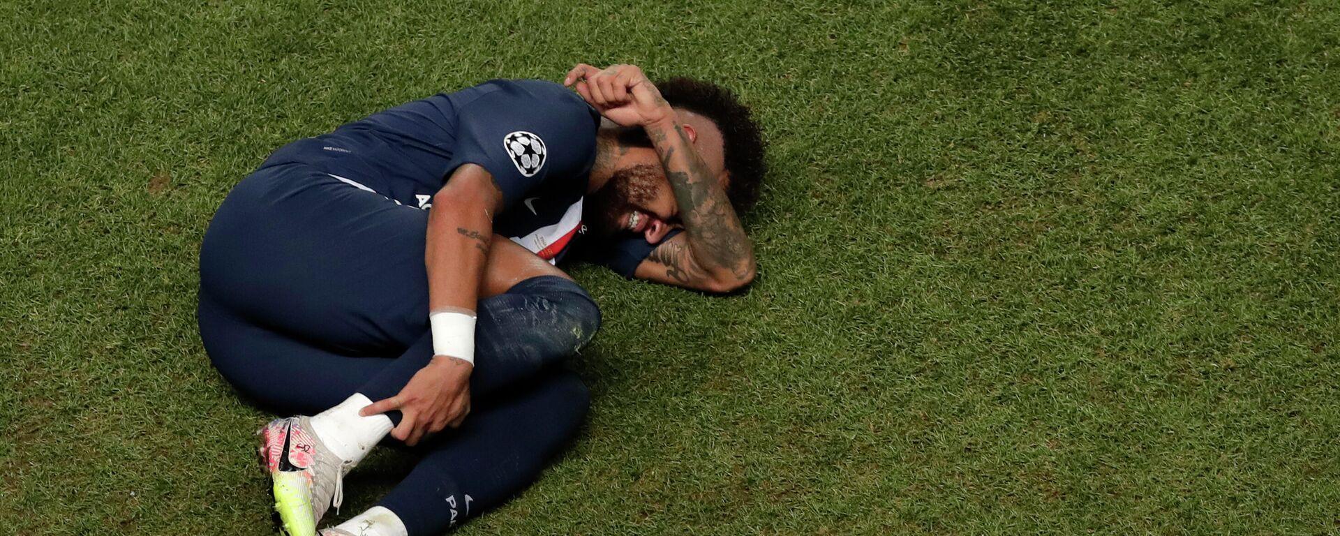 Neymar während des Fußballspiels der Champions League zwischen Paris Saint-Germain und Bayern München in Lissabon, August 2020 - SNA, 1920, 05.01.2021