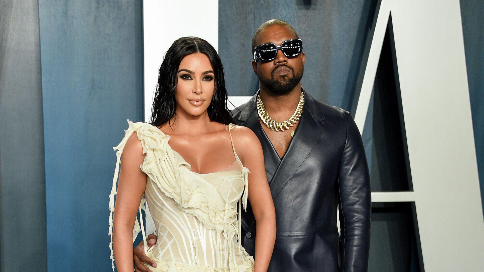 Kim Kardashian West und Kanye West - SNA, 1920, 02.09.2021