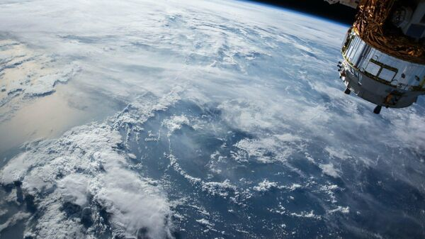 Erde gesehen aus dem All (Symbol) - SNA