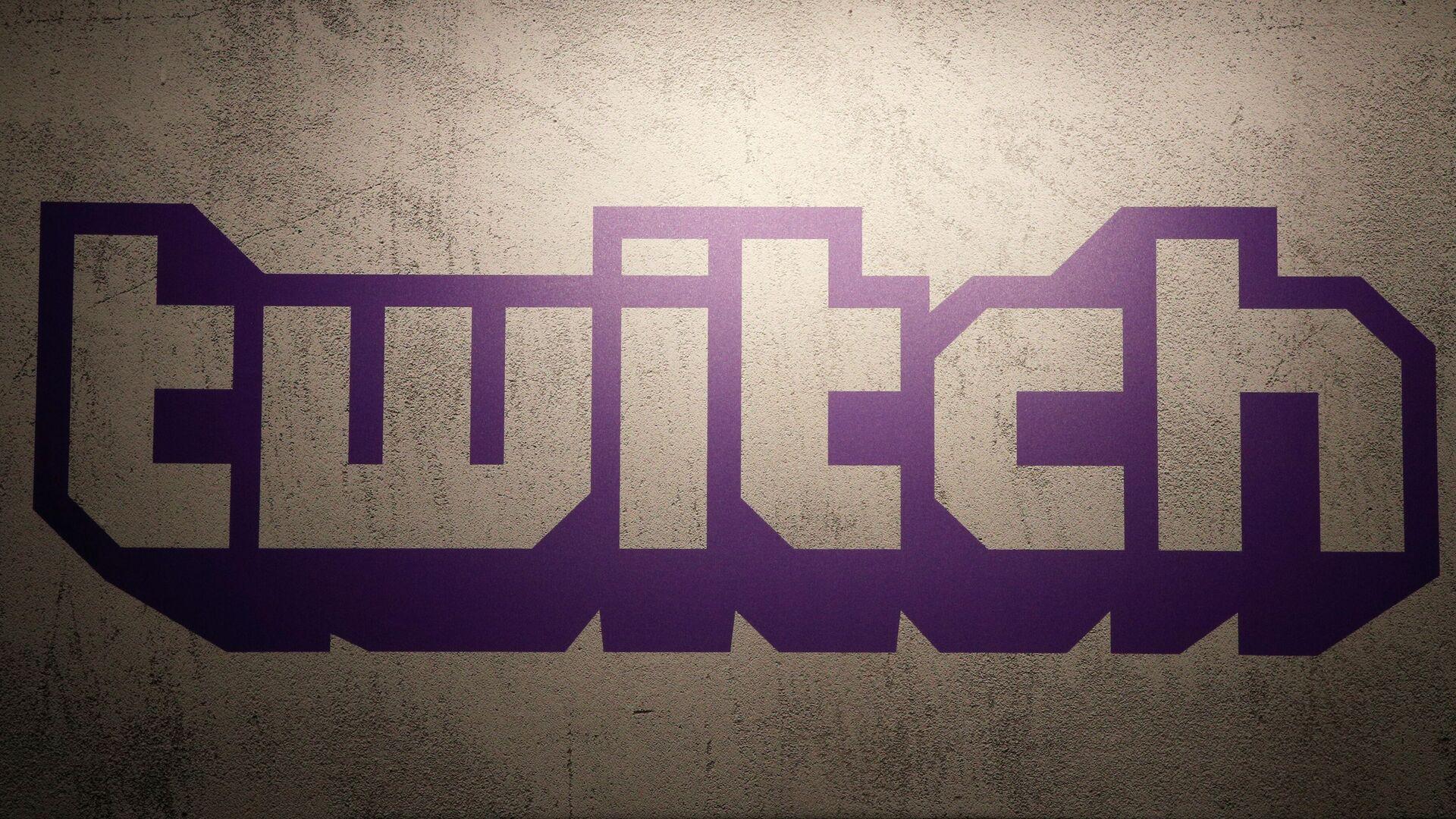 Twitch logo (Archivfoto) - SNA, 1920, 11.09.2021