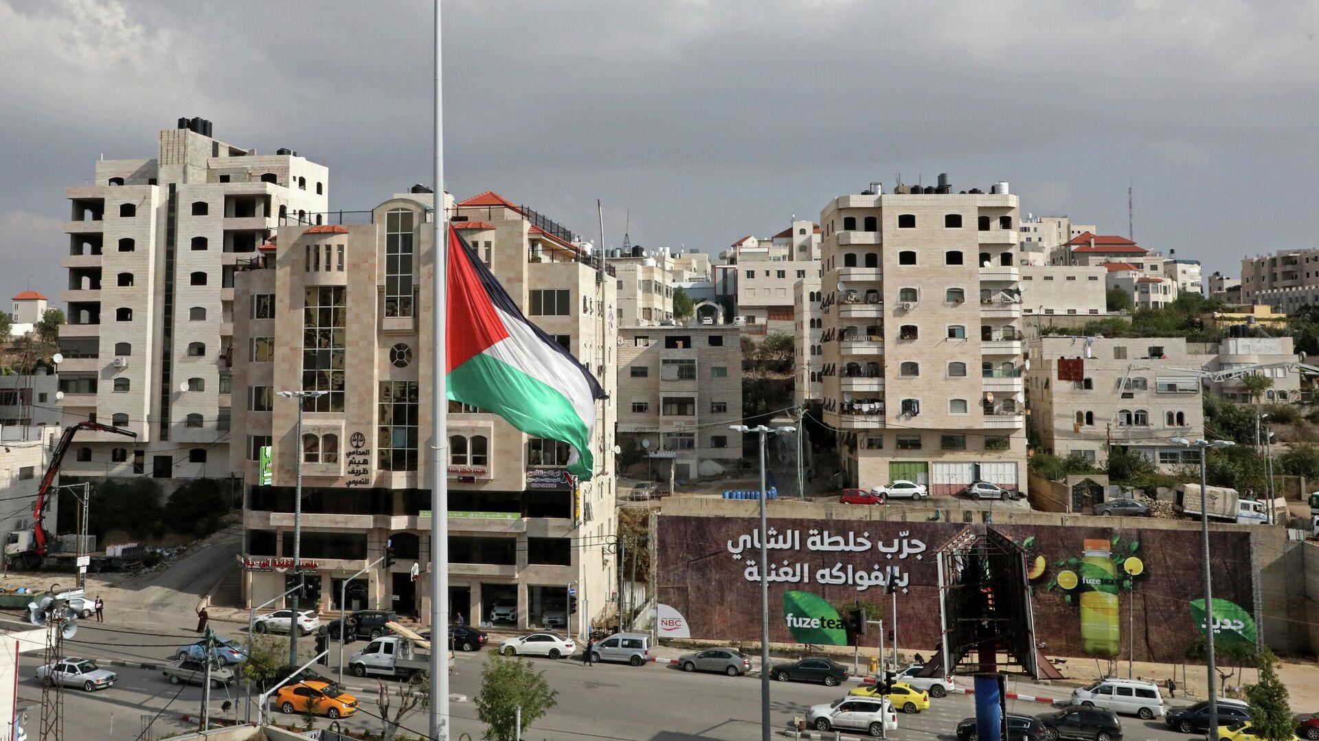 Flagge Palästinas - SNA, 1920, 07.01.2021