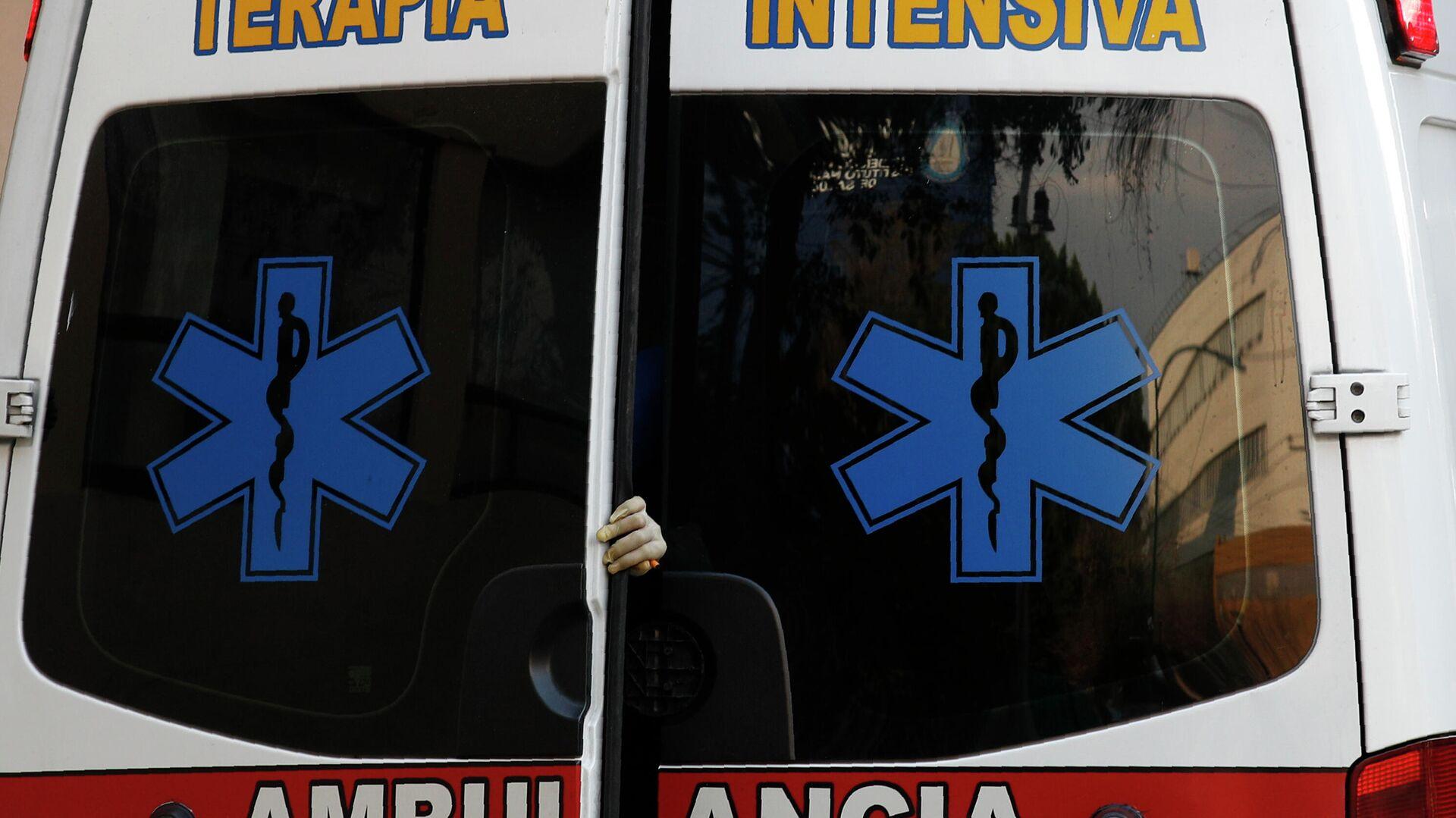 Krankenwagen in Mexiko (Symbolbild) - SNA, 1920, 08.01.2021