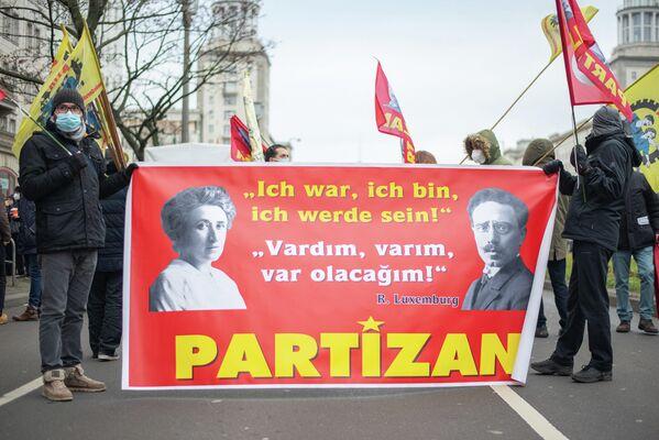 Unter anderem auch Parteien oder Ableger türkischer oder kurdischer kommunistischer Parteien. - SNA