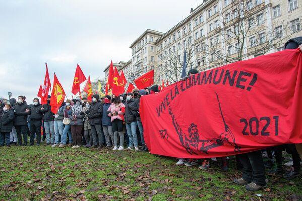 Neben dem 150. Geburtstag Rosa Luxemburgs nährt sich auch der 150. der Pariser Kommune. - SNA