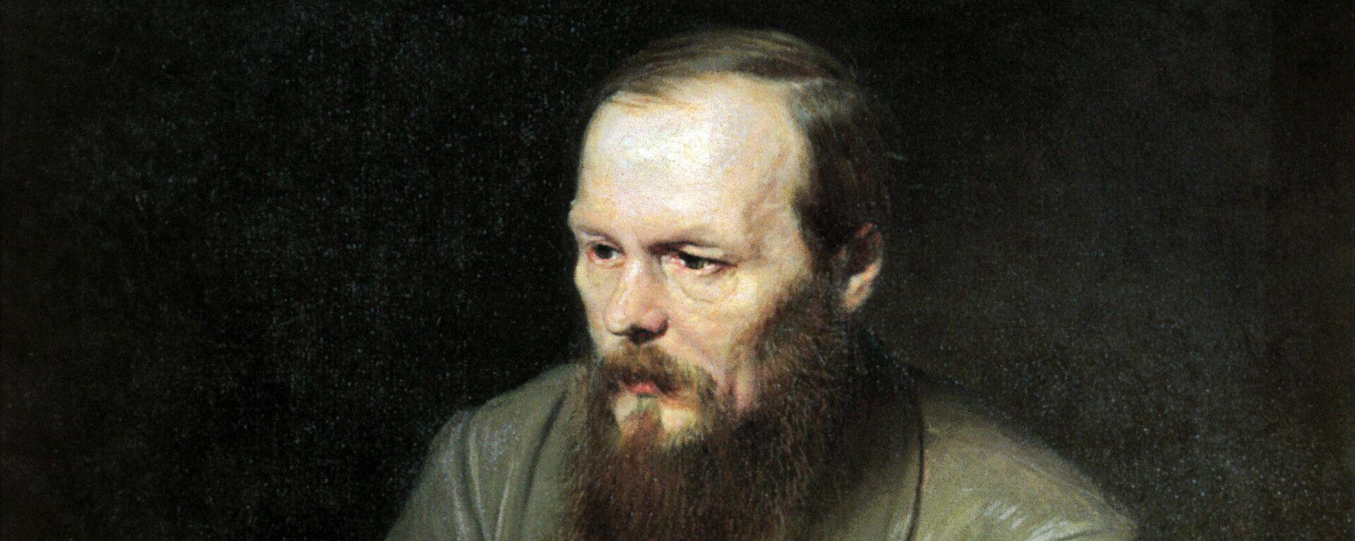 Dostojewski-Porträt von Wassili Perow - SNA, 1920, 11.01.2021