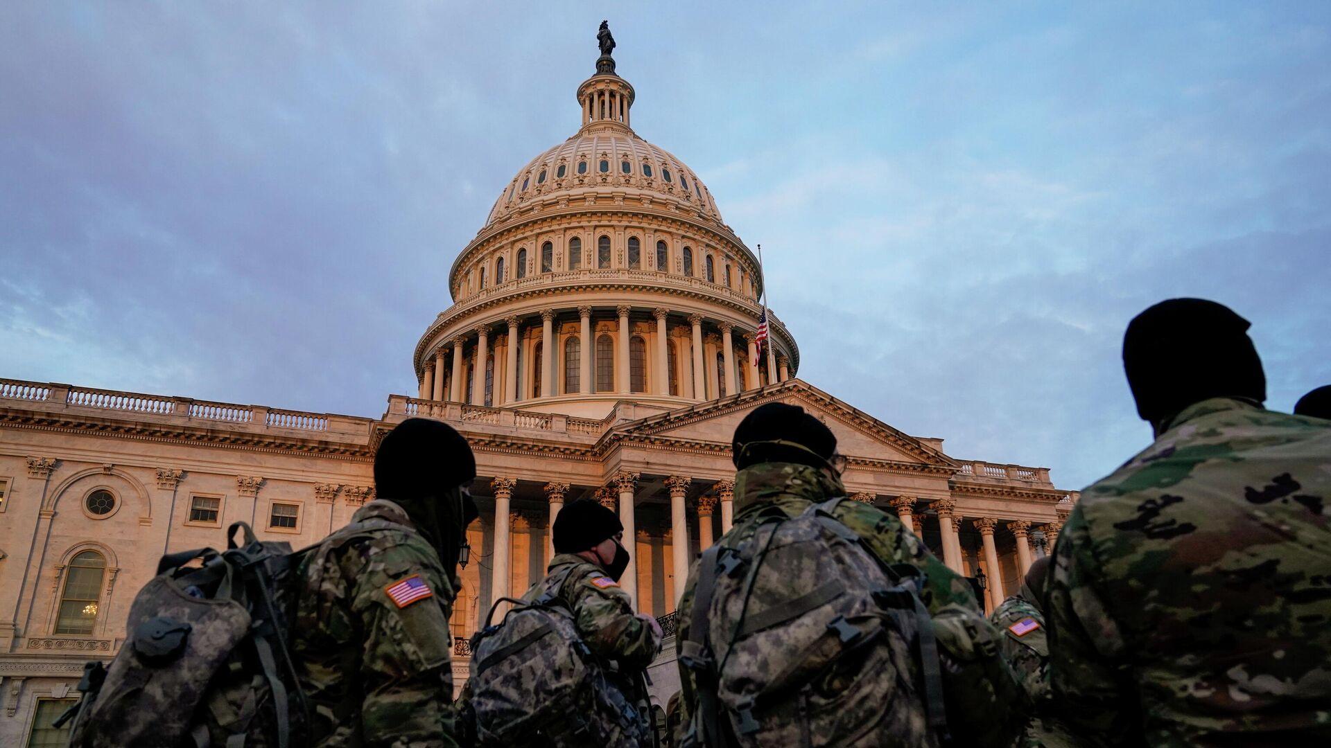 Kapitol in Washington DC. am 11. Januar 2021 - SNA, 1920, 19.09.2021