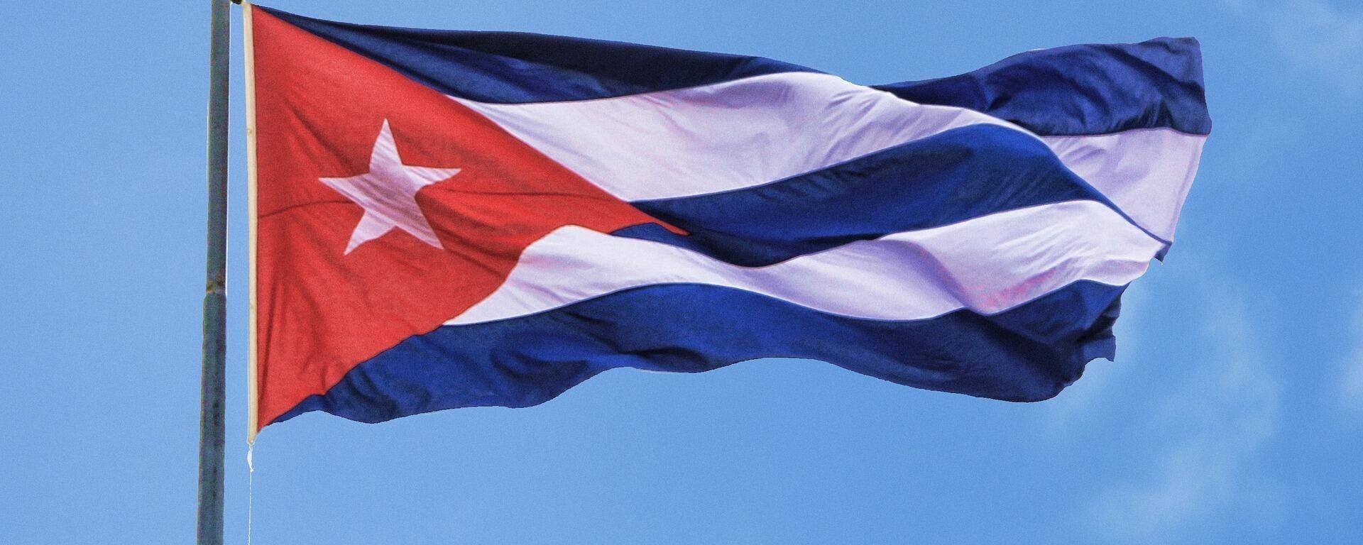 Flagge von Kuba (Symbolbild) - SNA, 1920, 27.07.2021