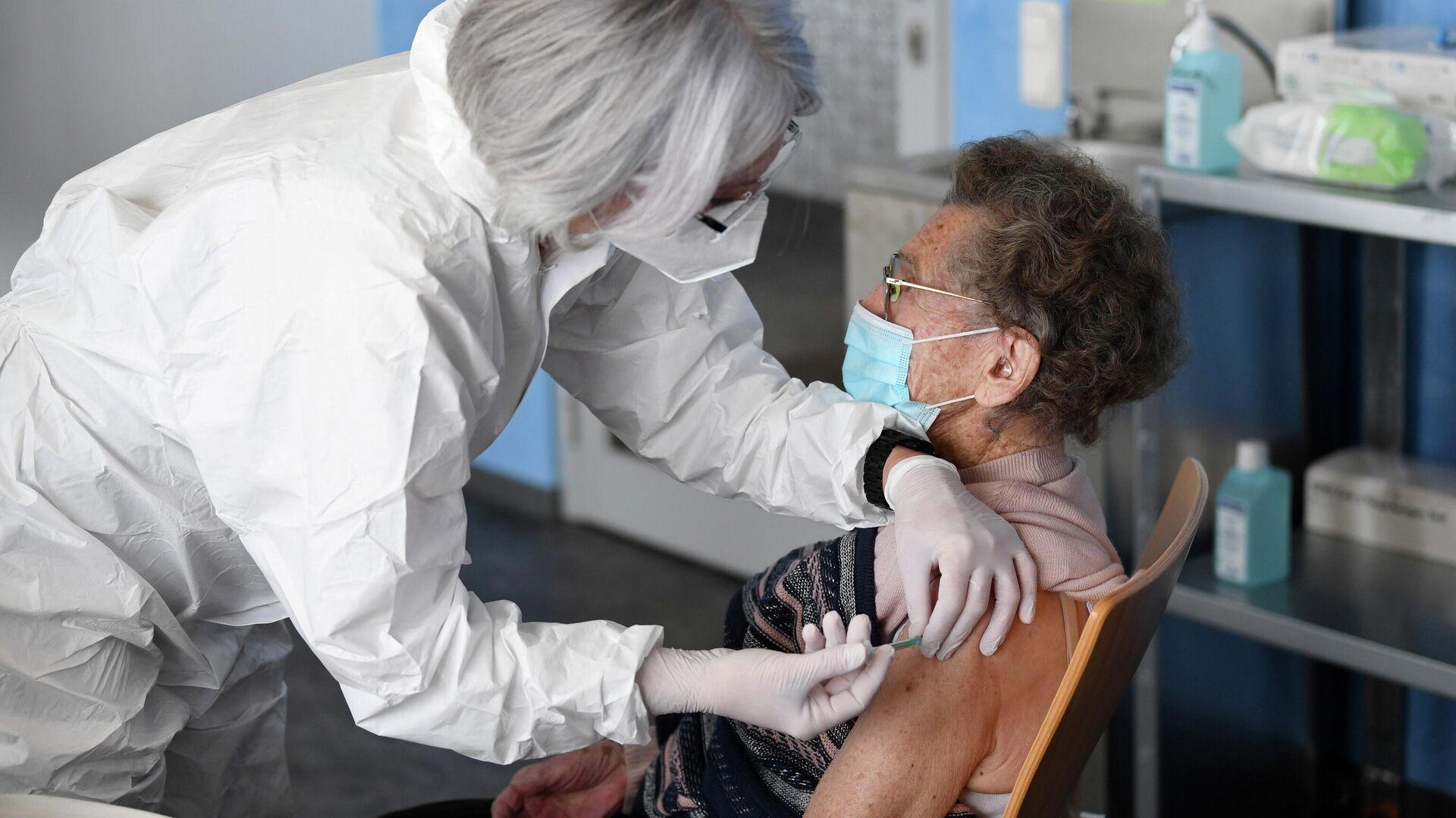 Impfkampagne in Deutschland (Symbolbild) - SNA, 1920, 04.02.2021