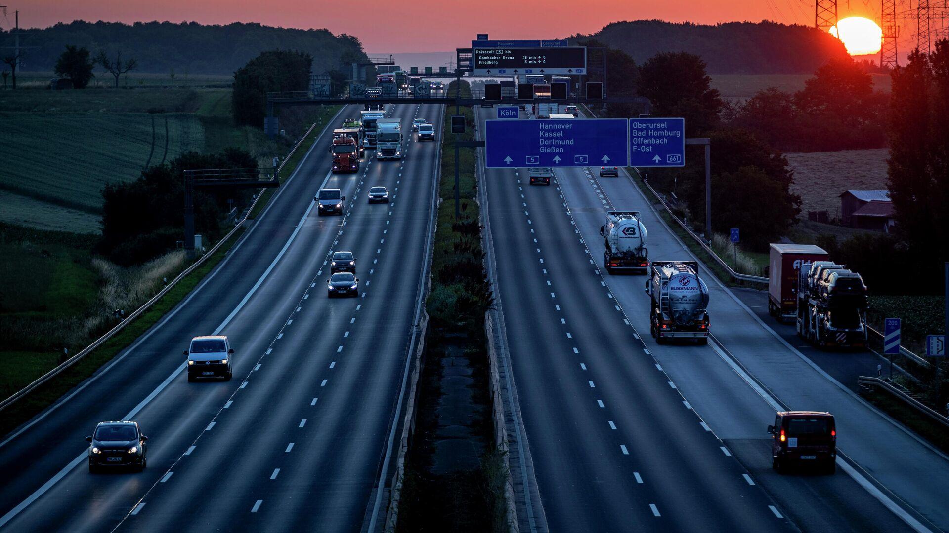 Autobahn in Deutschland  - SNA, 1920, 08.09.2021