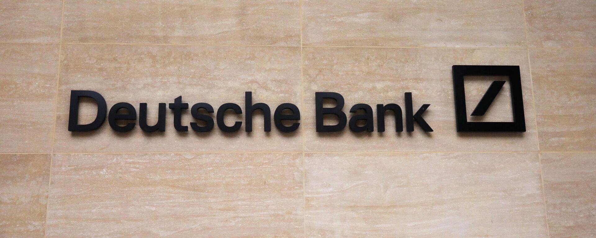 Deutsche Bank, Logo - SNA, 1920, 30.04.2021