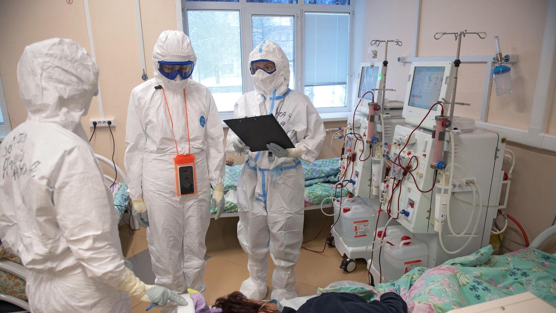 Ärzte in einem Krankenhaus in Twer, Russland  - SNA, 1920, 12.01.2021