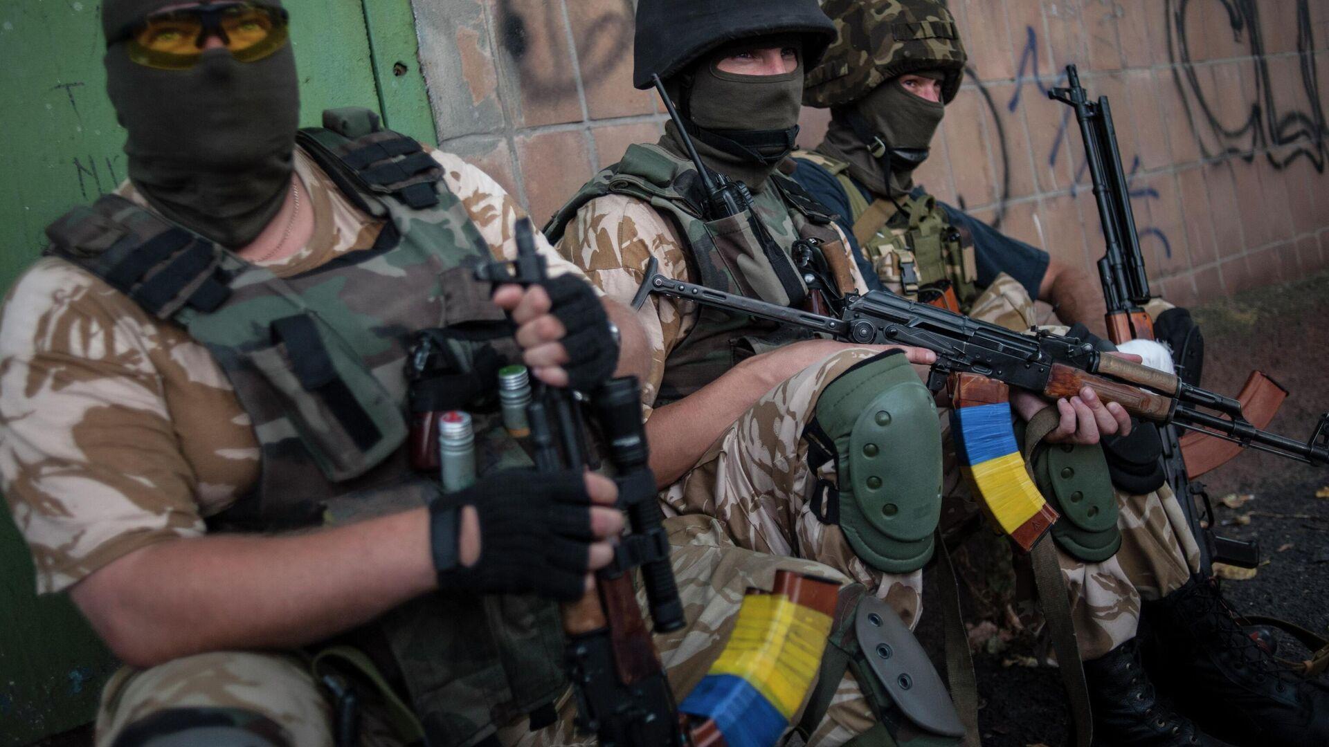 Ukrainische Soldaten - SNA, 1920, 12.04.2021