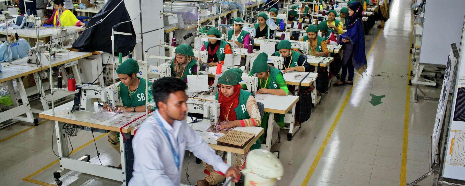 Textilfabrik von Snowtex in Bangladesh (Archivbild) - SNA, 1920, 24.04.2021