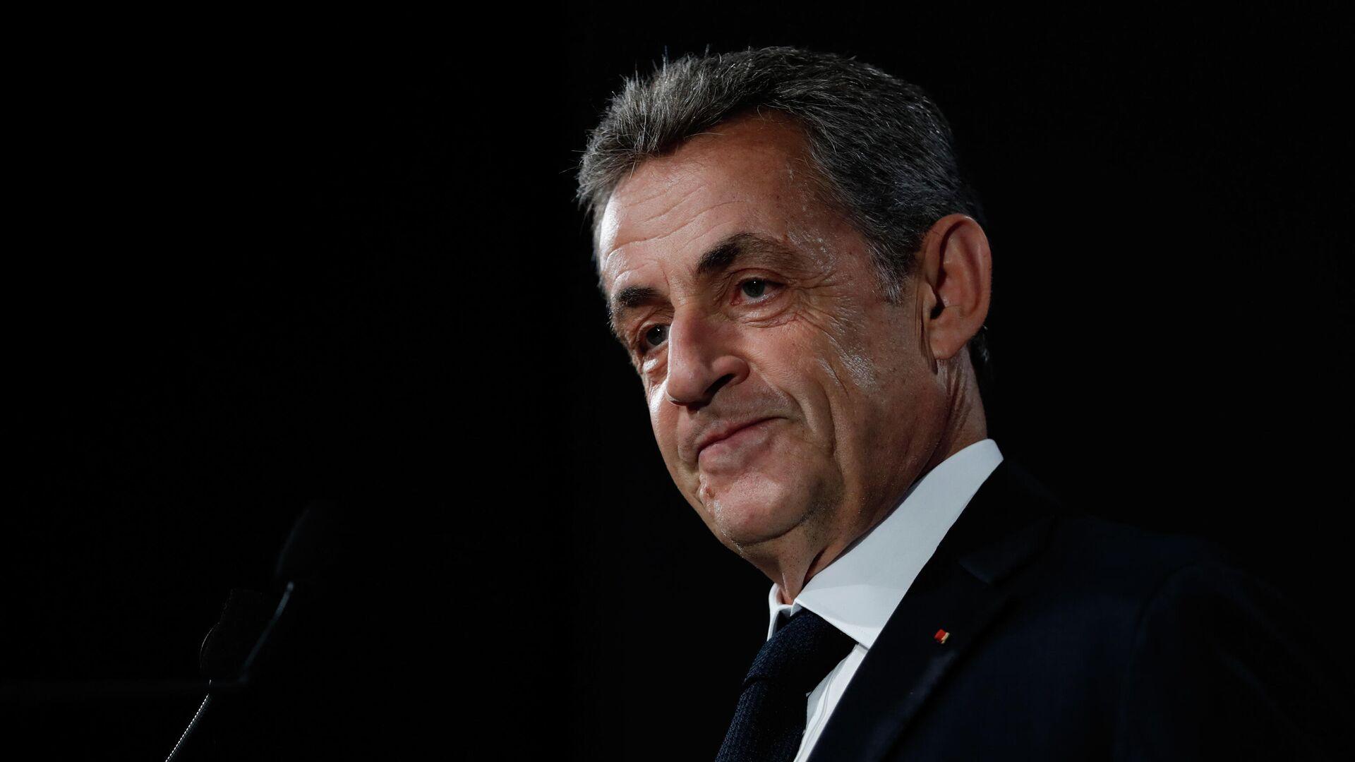 Frankreichs Ex-Präsident Nicolas Sarkozy - SNA, 1920, 15.01.2021