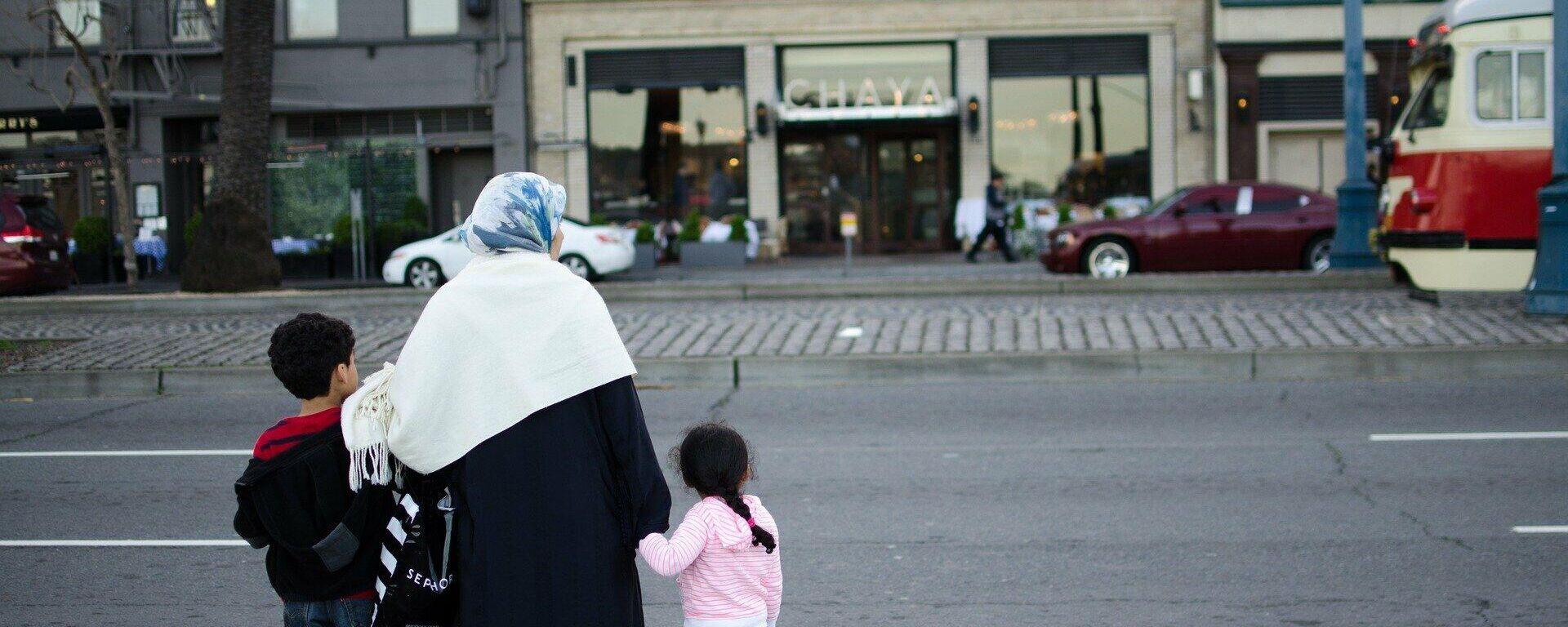 Muslimin (symbolbild) - SNA, 1920, 16.01.2021