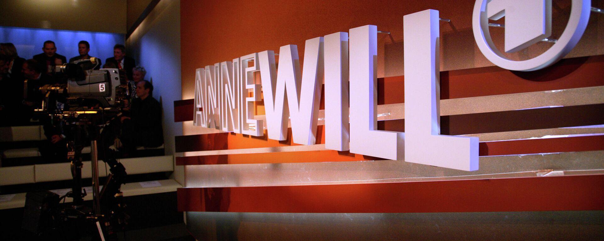 ARD-Show Anne Will (Archivbild) - SNA, 1920, 01.02.2021