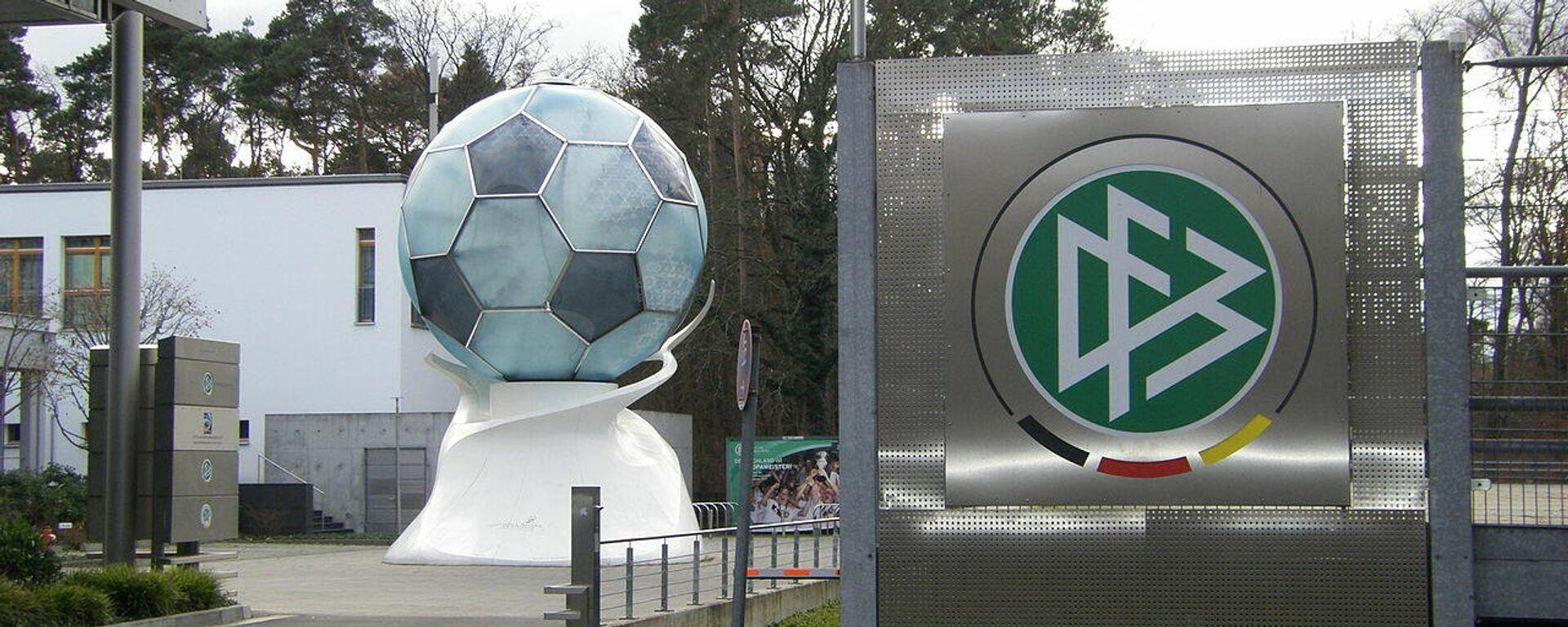 Zentrale des DFB in Frankfurt am Main (Archivbild) - SNA, 1920, 14.07.2021