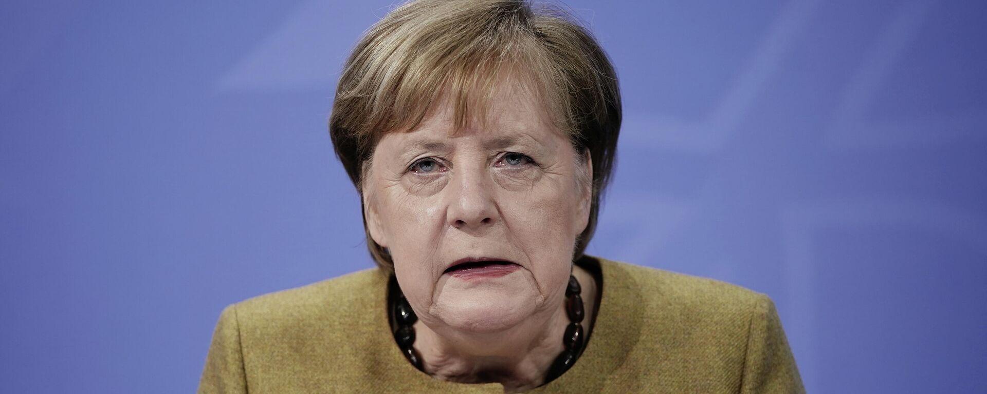 Angela Merkel - SNA, 1920, 21.01.2021