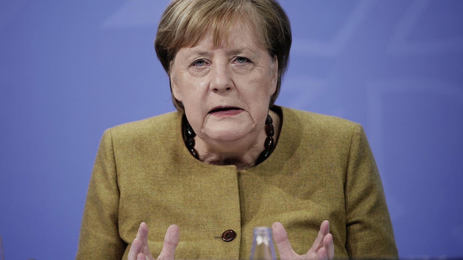 Angela Merkel - SNA, 1920, 05.02.2021