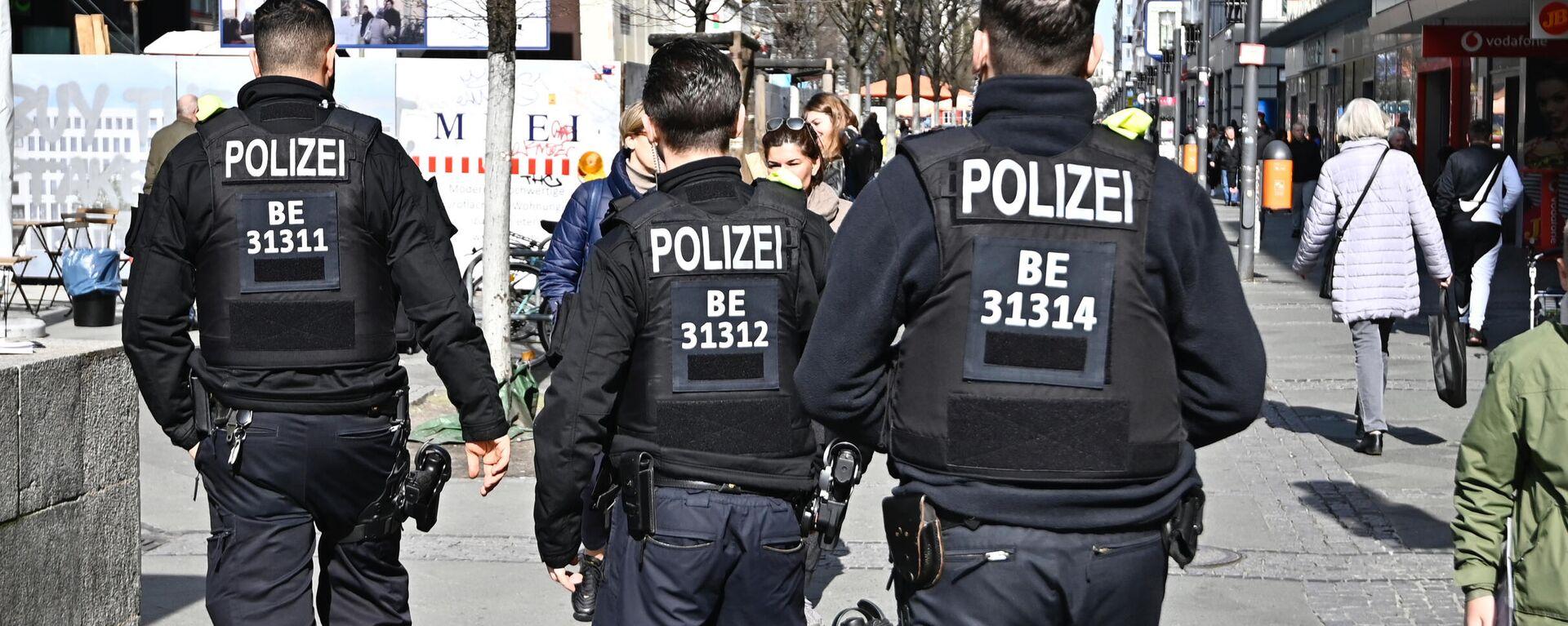 Polizei in Berlin - SNA, 1920, 20.01.2021