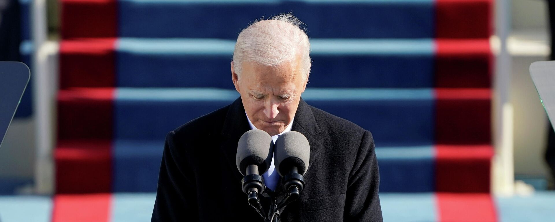 Joe Biden hält seine erste Rede als US-Präsident - SNA, 1920, 20.01.2021
