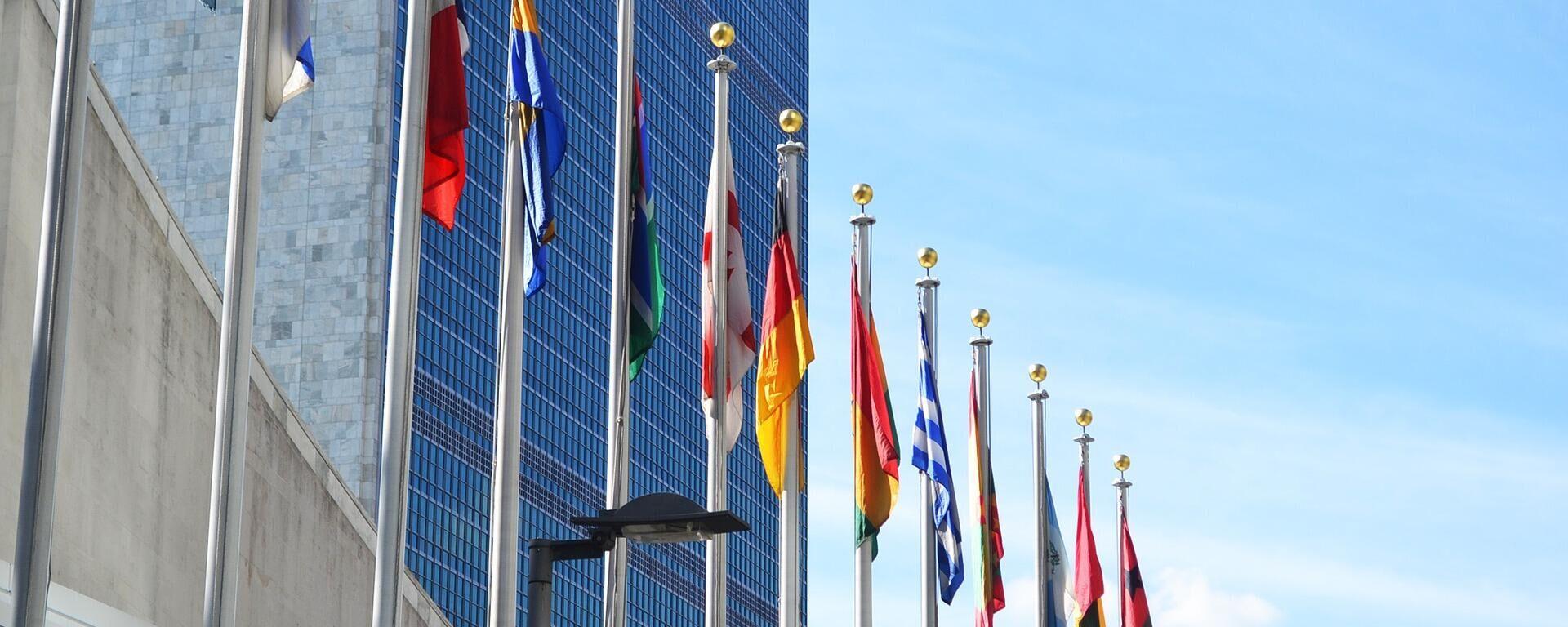 Vereinte Nationen (Symbolbild) - SNA, 1920, 23.09.2021