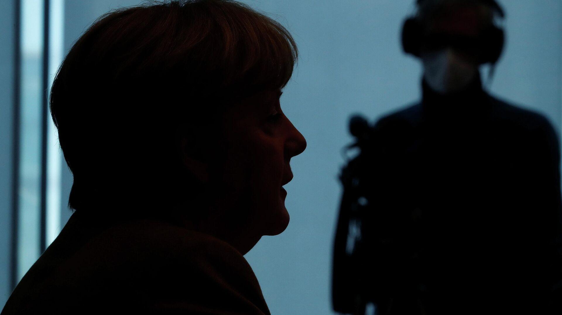 Bundeskanzlerin Angela Merkel - SNA, 1920, 02.02.2021