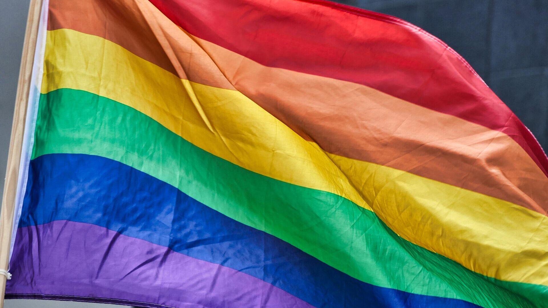 LGBT-Flagge (Symbolbild) - SNA, 1920, 13.08.2021