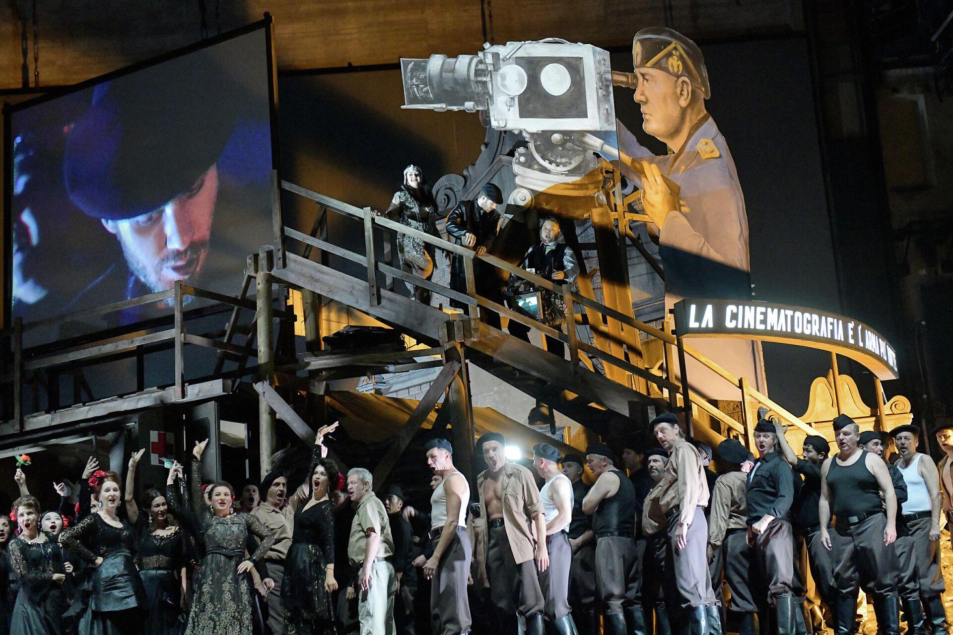 La forza del destino von Giuseppe Verdi, Regie: Frank Castorf - SNA, 1920, 25.01.2021