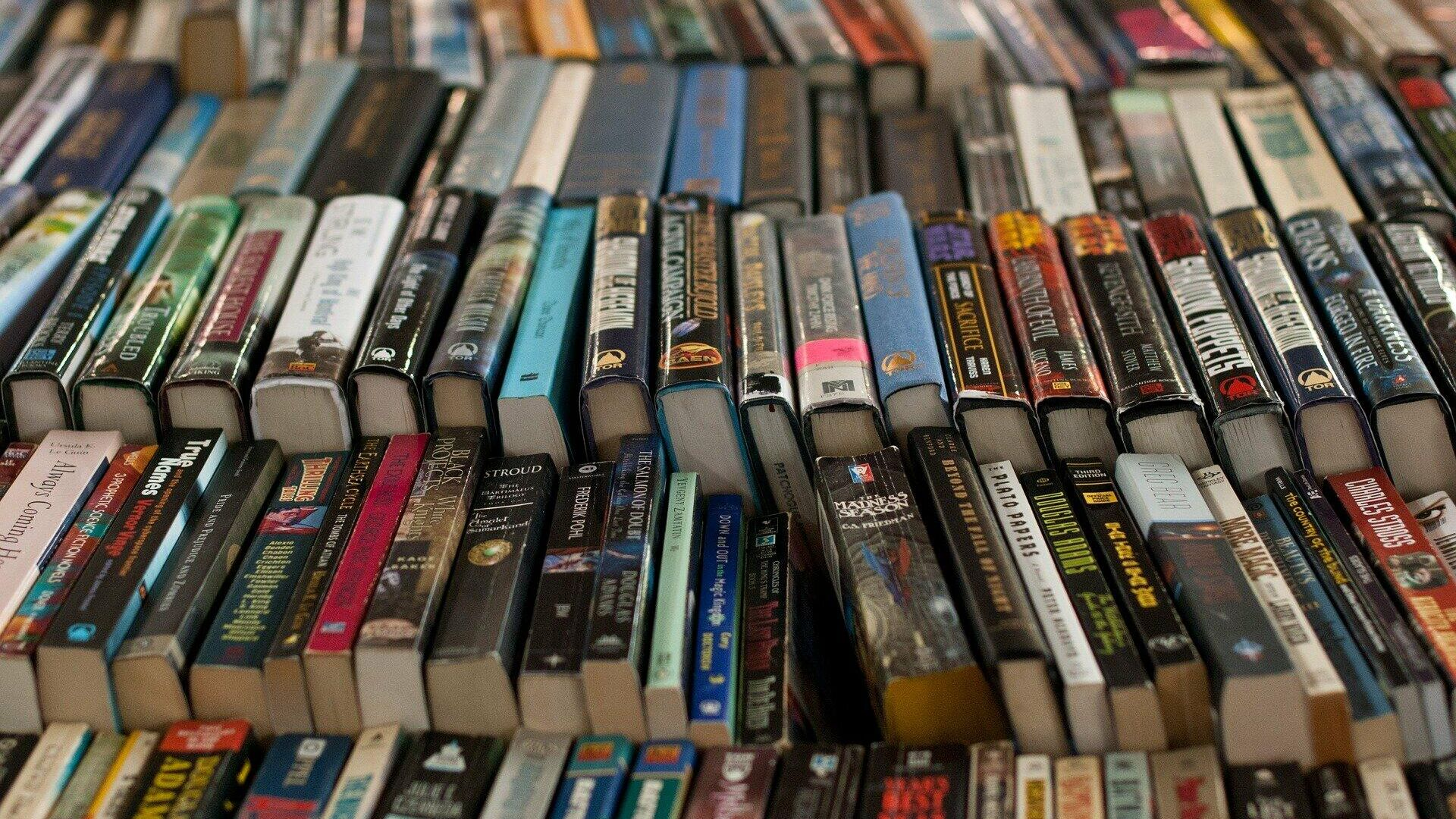 Bücher im Einzelhandel (Symbolbild) - SNA, 1920, 25.01.2021