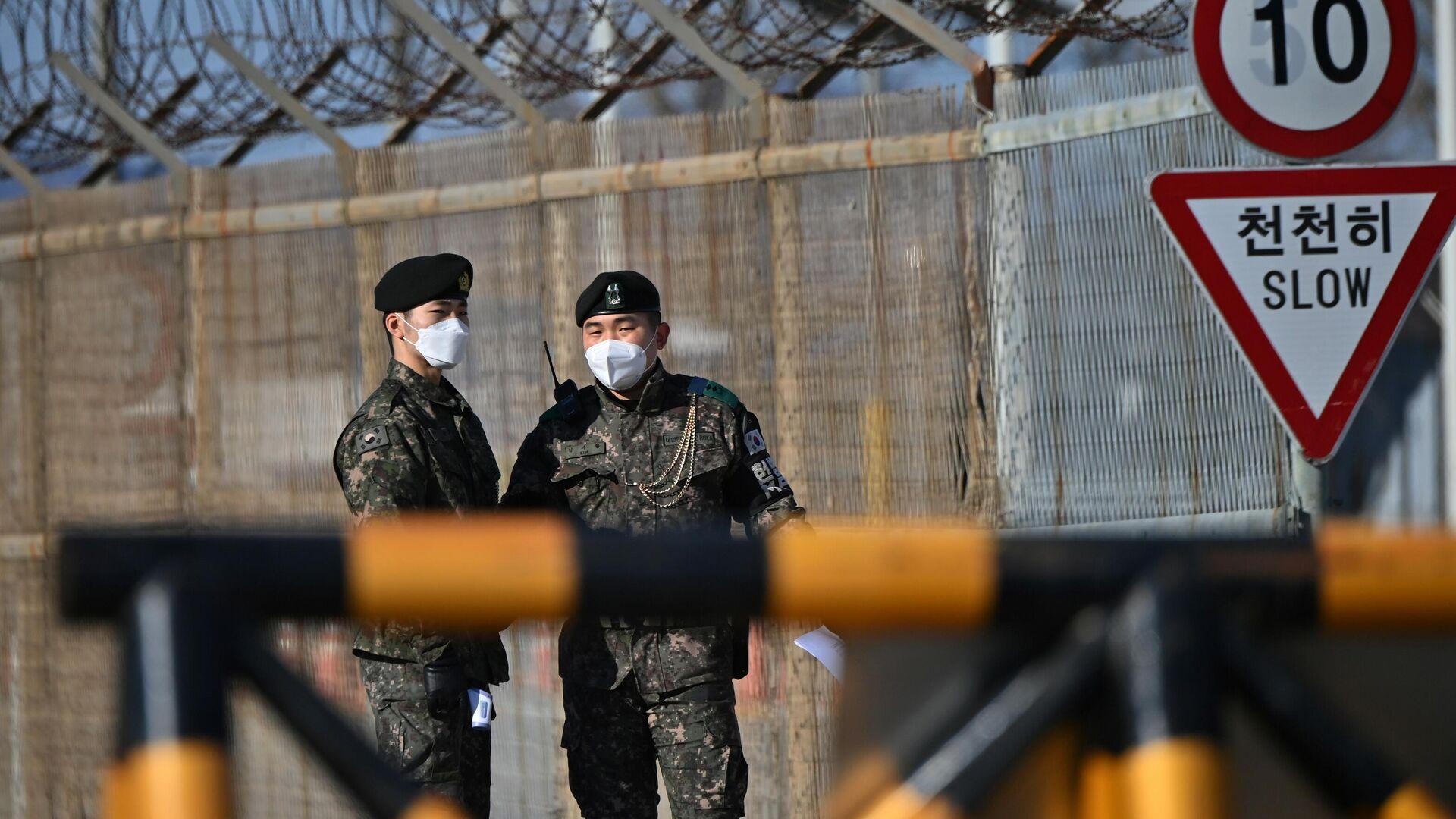 Südkoreanische Grenzsoldaten  - SNA, 1920, 25.01.2021