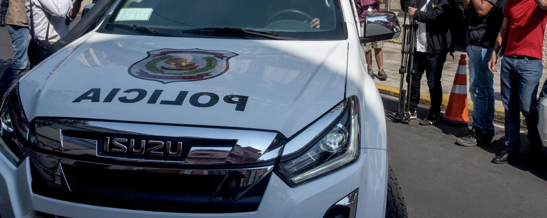 Ein Polizeiauto in Brasilien - SNA, 1920, 25.01.2021