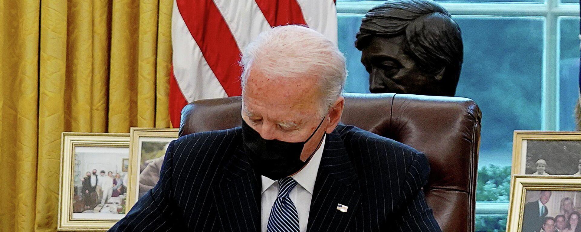 US-Präsident Joe Biden - SNA, 1920, 19.02.2021