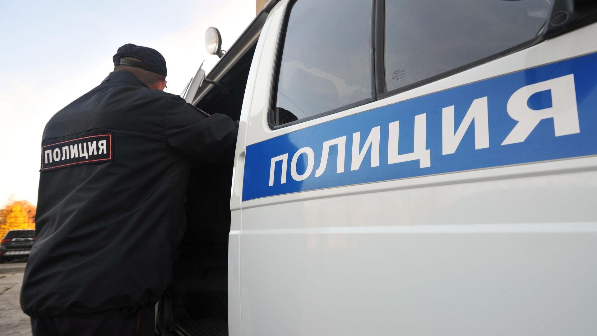 Russische Polizei (Symbolbild) - SNA, 1920, 16.09.2021