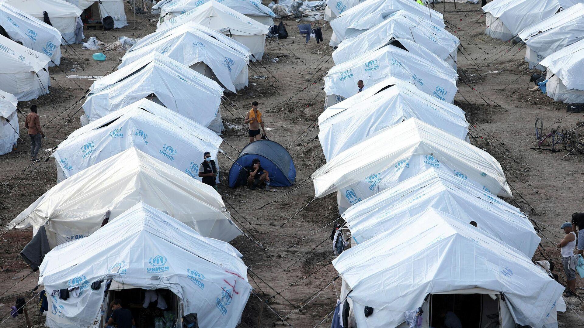 Migrantenlager Kara Tepe auf der griechischen Insel Lesbos (Archivbild) - SNA, 1920, 16.02.2021