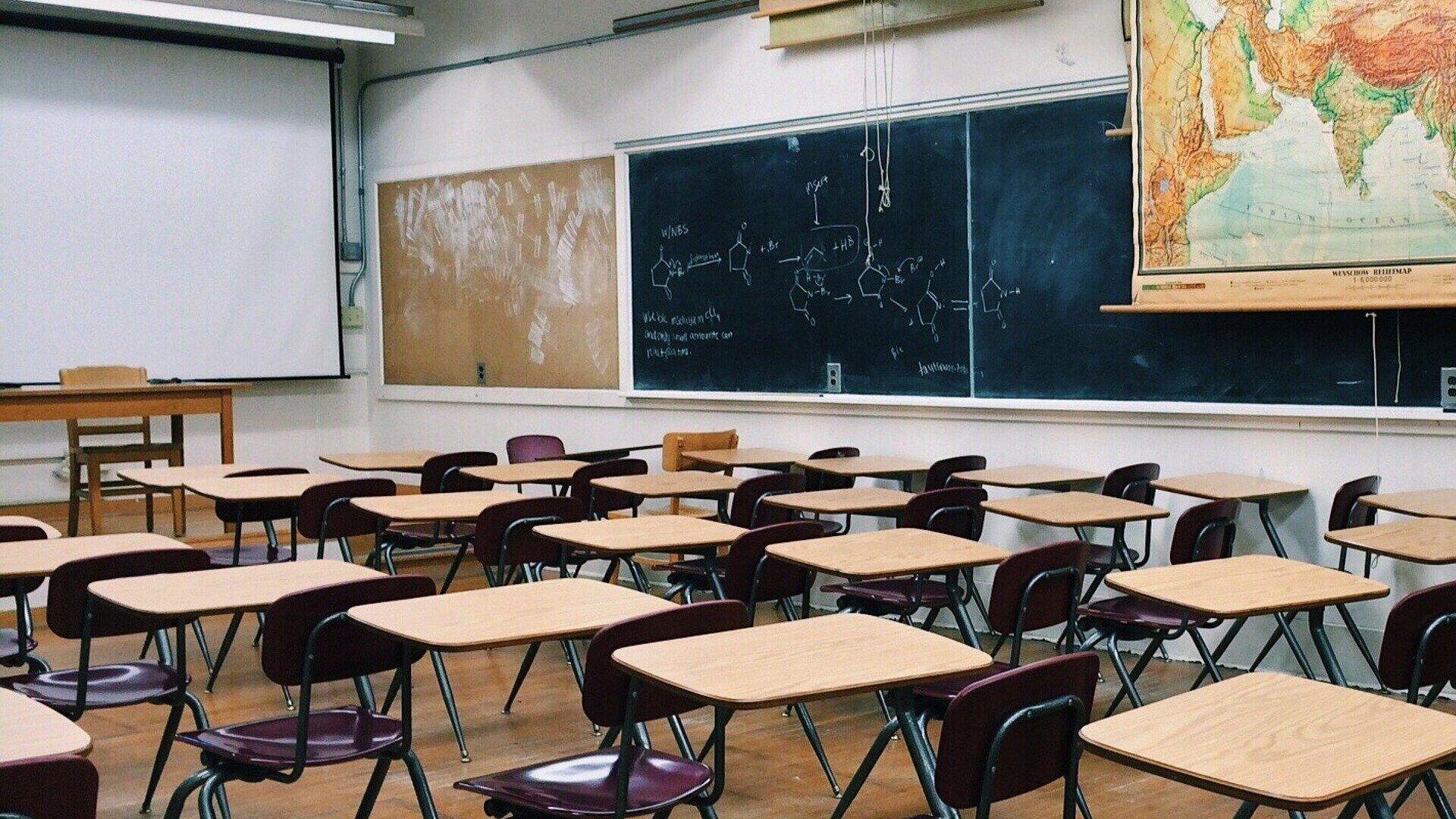 Klassenraum in einer Schule (Symbolbild) - SNA, 1920, 17.06.2021