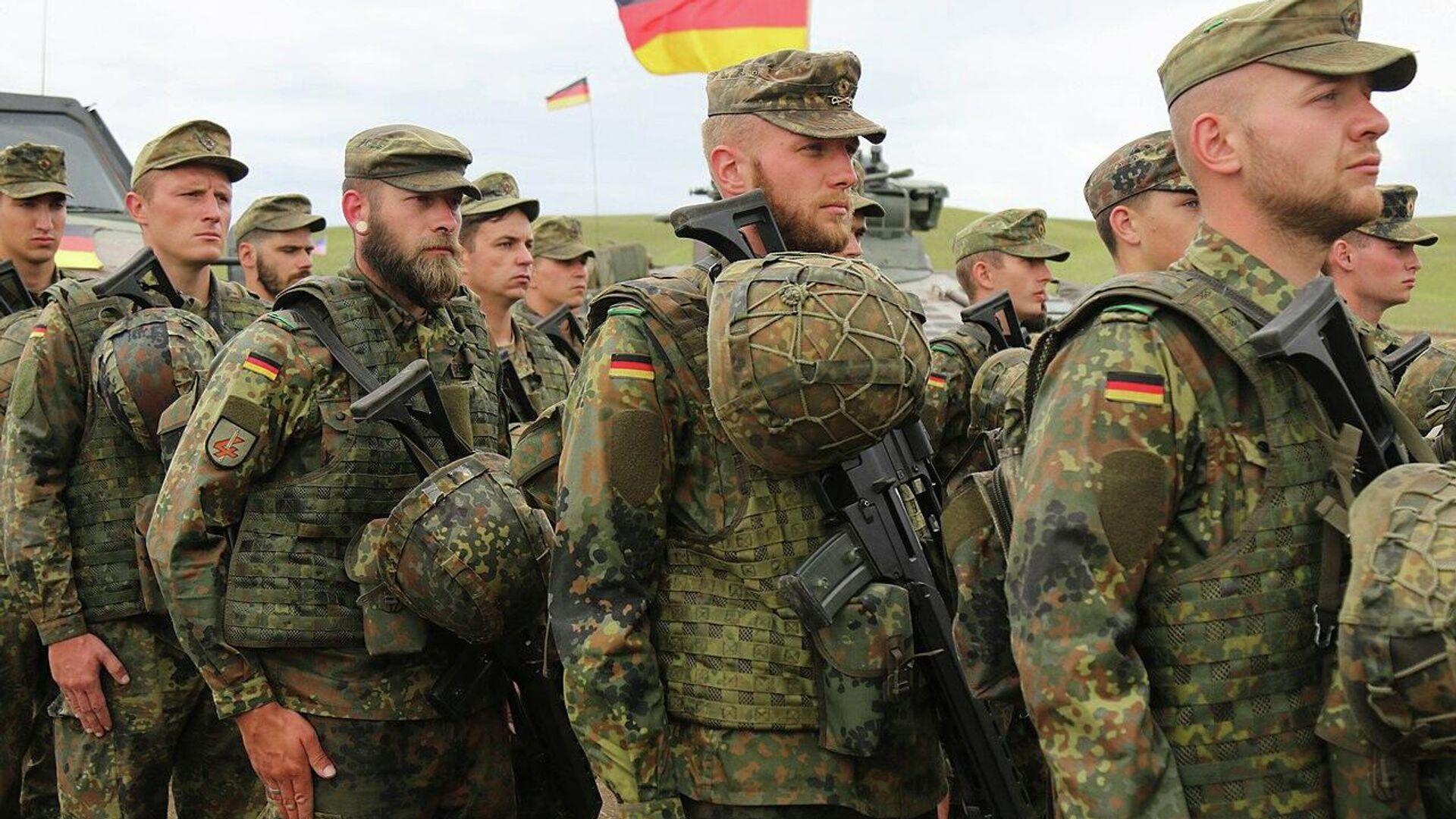 Bundeswehr-Soldaten (Archivbild) - SNA, 1920, 06.09.2021